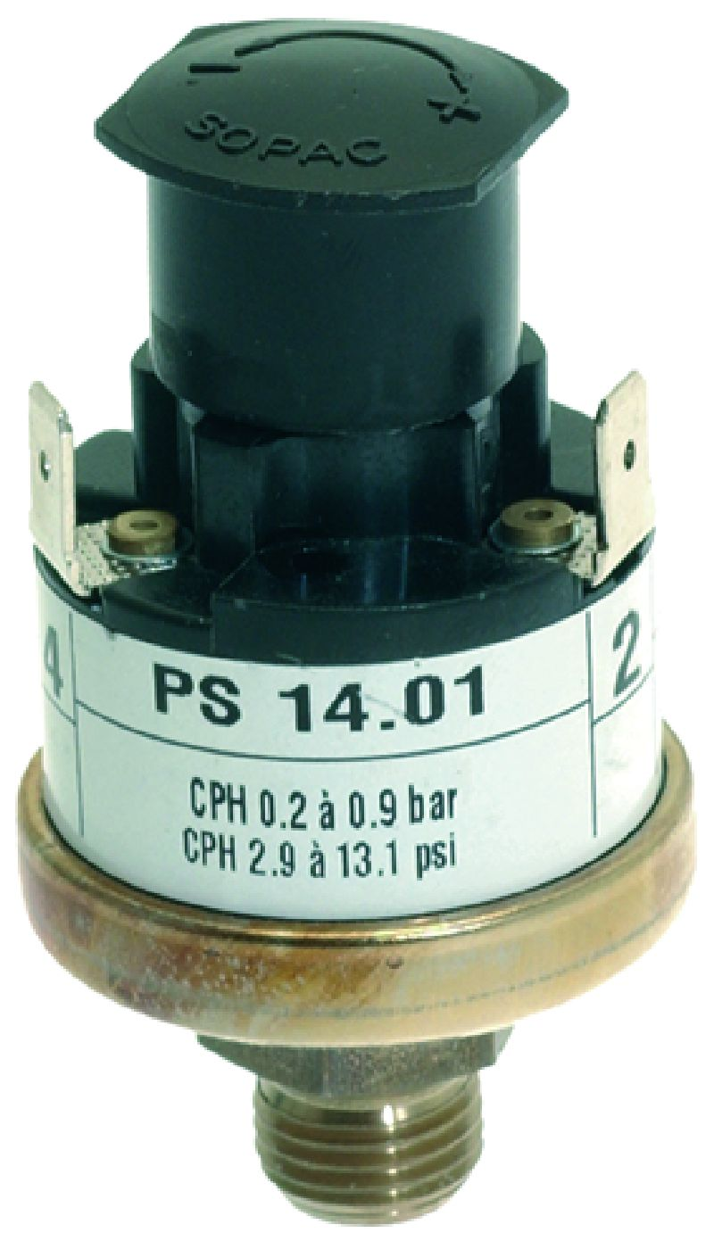 Прессостат 0.2-0.9 BAR, 15A 250V FAGOR/MBM