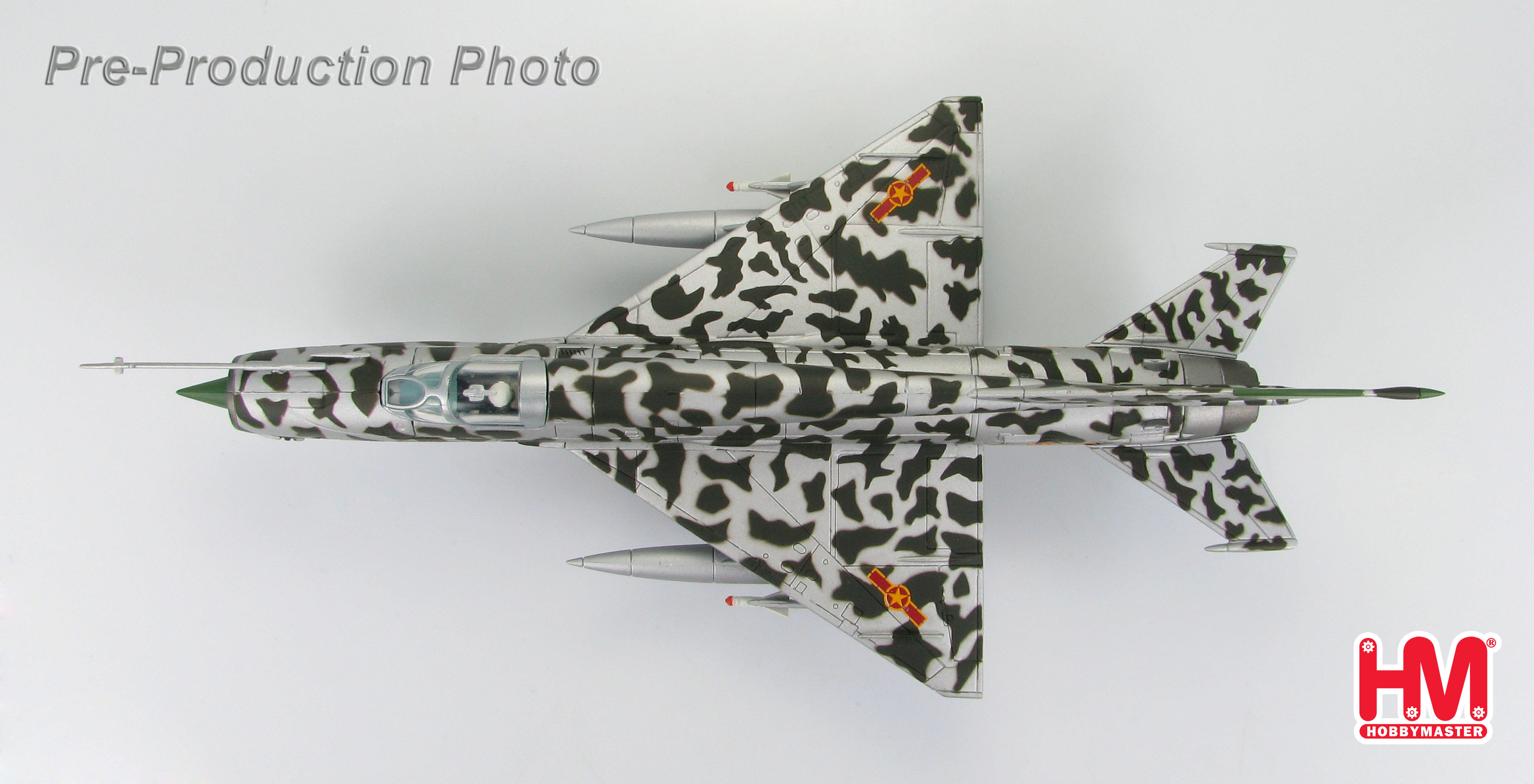 MIG-21 Jet Fighter 5112, Lt. Nguyen Hong My, North Vietnamese Air Force, 1:72