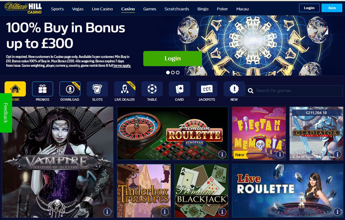 казино вильям хилл william hill casino